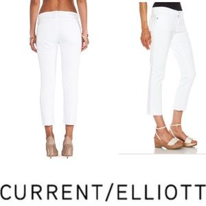 NEW CURRENT ELLIOTT the cropped straight 1570-0042